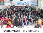 new york  ny  usa   october 5 ... | Shutterstock . vector #1197392812