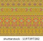 navajo american indian pattern... | Shutterstock .eps vector #1197397282