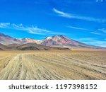 bolivia  salar de uyuni  arbol...   Shutterstock . vector #1197398152