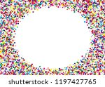 festival pattern  frame with... | Shutterstock .eps vector #1197427765