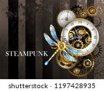 antique dials with gold and... | Shutterstock .eps vector #1197428935