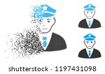 policeman icon with face in...   Shutterstock .eps vector #1197431098
