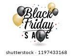 black friday sale banner....   Shutterstock .eps vector #1197433168