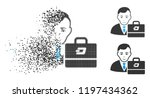 dash accounter icon with face... | Shutterstock .eps vector #1197434362