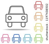 car icon. elements of...