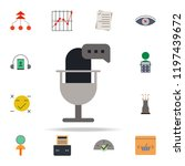 colored customer request icon.... | Shutterstock .eps vector #1197439672