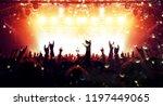 concert arena with festive... | Shutterstock . vector #1197449065