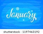 hand drawn lettering phrase... | Shutterstock .eps vector #1197463192