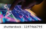 digital tablet computer showing ...   Shutterstock . vector #1197466795