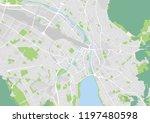 vector city map of zurich   Shutterstock .eps vector #1197480598