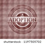 adoption red seamless geometric ... | Shutterstock .eps vector #1197505702