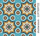 morocco seamless pattern.... | Shutterstock .eps vector #1197509722