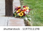 wedding bouquet waiting for the ... | Shutterstock . vector #1197511198