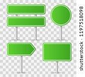 road signs. vector illustration | Shutterstock .eps vector #1197518098