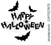 halloween. text for your design....   Shutterstock .eps vector #1197527875