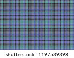 blue colors check plaid... | Shutterstock .eps vector #1197539398