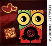 monster   Shutterstock .eps vector #119754568