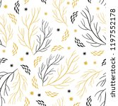 beautiful seamless pattern with ... | Shutterstock .eps vector #1197552178