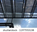 solar collector  heat for solar ... | Shutterstock . vector #1197553138