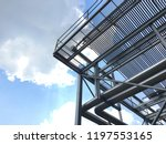 solar collector  heat for solar ... | Shutterstock . vector #1197553165