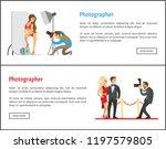 studio photographer and... | Shutterstock .eps vector #1197579805