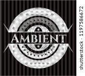 ambient silver shiny emblem | Shutterstock .eps vector #1197586672