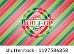 built up christmas colors... | Shutterstock .eps vector #1197586858