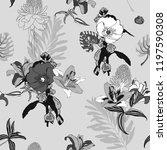 original trendy seamless... | Shutterstock .eps vector #1197590308