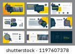 abstract presentation templates ... | Shutterstock .eps vector #1197607378