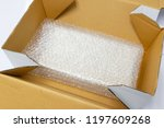 box and bubble wrap  for... | Shutterstock . vector #1197609268