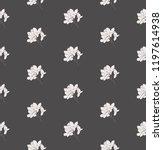 vector delicate dark decorative ... | Shutterstock .eps vector #1197614938