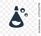 potion vector icon isolated on...   Shutterstock .eps vector #1197616798