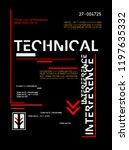 stylish trendy slogan tee t...   Shutterstock .eps vector #1197635332