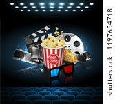illustration for the film...   Shutterstock .eps vector #1197654718