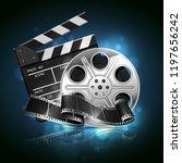 illustration for the film... | Shutterstock .eps vector #1197656242