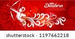 illustration of lord rama... | Shutterstock .eps vector #1197662218