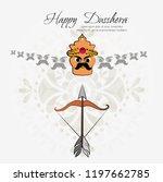 illustration of ravana.vector... | Shutterstock .eps vector #1197662785