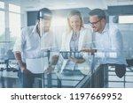 it's safer over digital... | Shutterstock . vector #1197669952