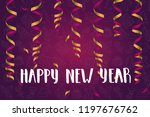 greeting background with... | Shutterstock .eps vector #1197676762