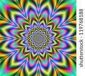 Psychedelic Flower   A Digital...