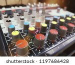 professional audio mixer  sound ...   Shutterstock . vector #1197686428