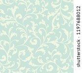 floral seamless pattern. ... | Shutterstock .eps vector #1197688012