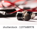 earphone  music  earphone with... | Shutterstock . vector #1197688978