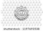 dealer grey emblem with... | Shutterstock .eps vector #1197693538