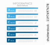 infographic design template... | Shutterstock .eps vector #1197697678