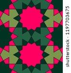geometric pattern  arabic... | Shutterstock .eps vector #1197703675