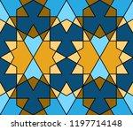 geometric seamless pattern.... | Shutterstock .eps vector #1197714148