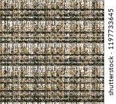 vector woven seamless texture.... | Shutterstock .eps vector #1197733645