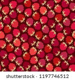 seamless vector pattern with ... | Shutterstock .eps vector #1197746512