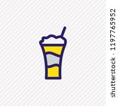 vector illustration of coffee... | Shutterstock .eps vector #1197765952